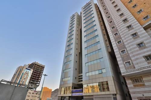 Hotel Reefaf Al Hayah فنادق السعودية شقق فندقية السعودية Hotel Skyscraper Building
