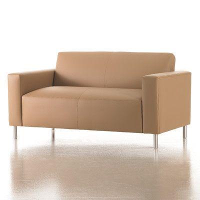 Studio Q Furniture Vibe Loveseat In Grade 2 Fabric Upholstery: Fabric