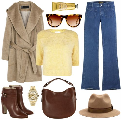 Polyvore Look with Calypso jeans by Seafarer  Shop at: http://bit.ly/calypsoshop  #seafarer #theseafarer #flared #denim #jeans #style #fashion #polyvore #look #outfit #ootd
