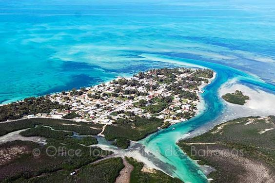 Andros, Bahamas | Bahamas, Andros vue d'avion