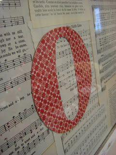 leaf and letter handmade: no-budget christmas decor! framed letters.