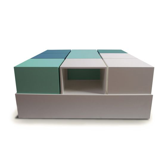 Ruby Pastel Coffee Table | Intorius