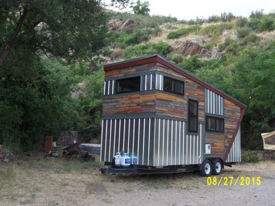 Tiny House Vacation in Golden Colorado 0010 Tiny house