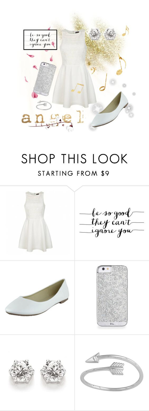 """My little angel"" by mk-m ❤ liked on Polyvore featuring Ally Fashion"