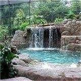Construccion y reparacion de cascadas rios muros for Cascadas de piedra para jardin