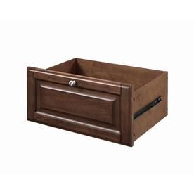 Sable Wood Drawer Unit $49 Full-extension self-closing drawer glides