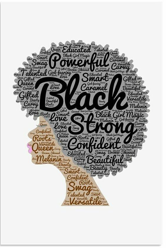 Pin By Sonya Eucalyptus On Art Is Within The Eye Of The Beholder Natural Hair Art Natural Hair Styles For Black Women Black Girl Magic Art