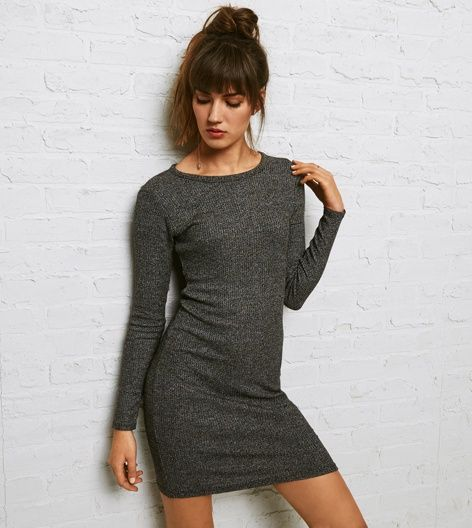 Black Don't Ask Why Sweater Dress