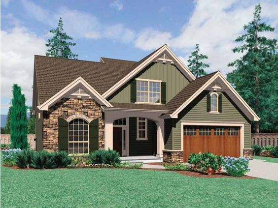 House plans stone accents home design and style for Houses with stone accents