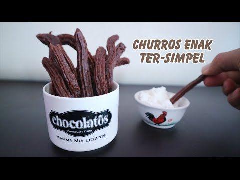 Kue Churros Choco Ter Mudah Lumer Enak Youtube Churros Resep Resep Es Krim