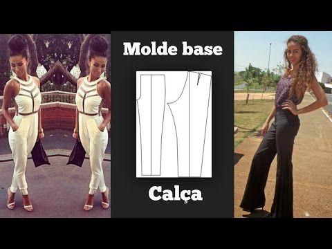 Curso Confecção de Calças Femininas - Modelagem da Base de Calça - Cursos CPT - YouTube