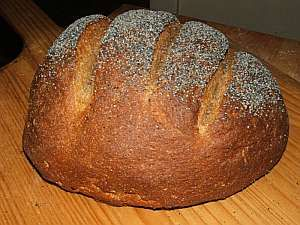 Swedish Rye from 'blog from OUR kitchen' http://etherwork.net/blog/?p=1492 #BakeYourOwnBread