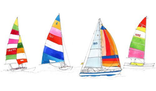 Colorful boats!