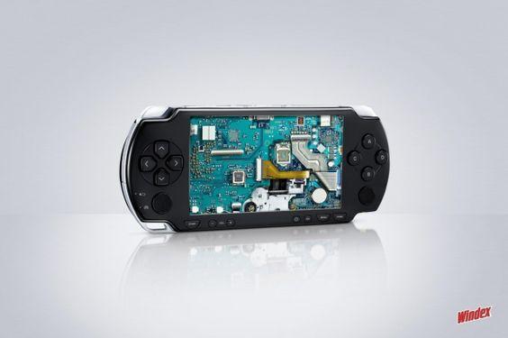 Adeevee - Sc Johnson Windex: Psp, Computer, Cell Phone