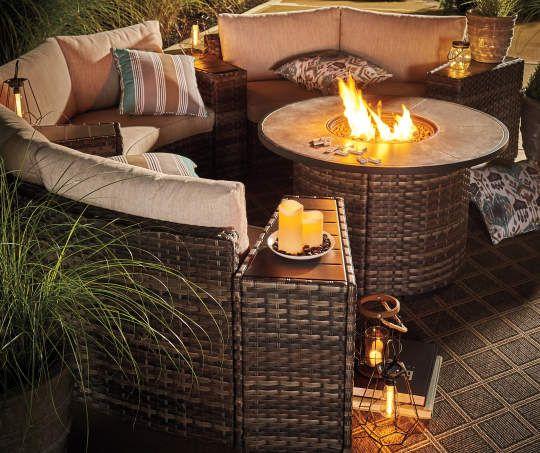 I Found A Manhattan Round Fire Pit Table 42 Round Fire Pit