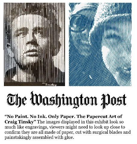 No paint. No ink. Only paper. by Craig Tinsky — Kickstarter