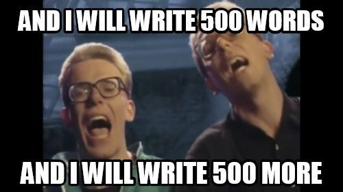 Must add this to my NanoWriMo inspiration folder.: