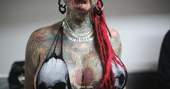 The Most Terrifying Tattoos On Show at Venezuela's Tattoo Expo Right Now