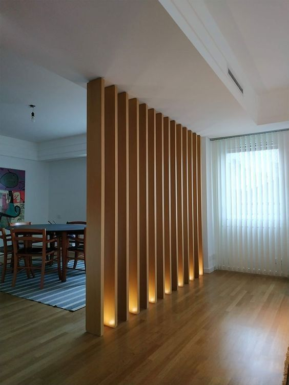 50 Amazing Partition Wall Ideas Home Lighting Design Lighting Design Interior Office Interior Design