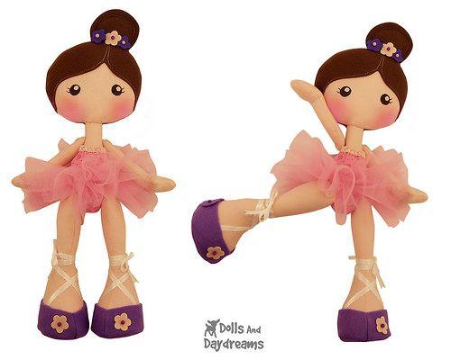 LuLu Ballerina Sewing Pattern