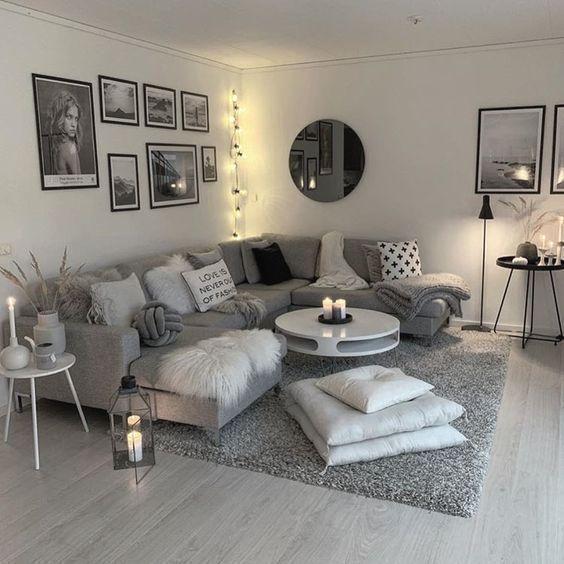 petit appartement salon