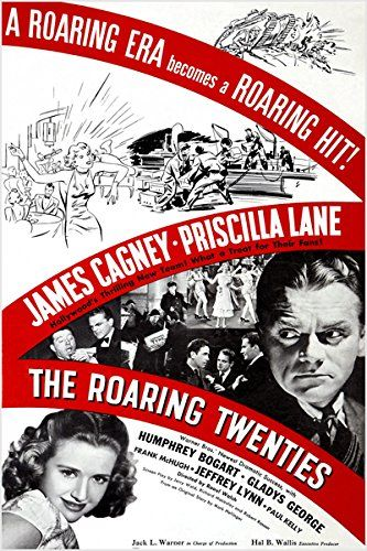 THE ROARING TWENTIES classic movie poster JAMES CAGNEY b/w photos 24X36 (reproduction, not an original) NEW - Vintage art print series listings are reproductions of original vintage art prints. Print may show fold marks, tears, stains and blurry text and graphics from reproduction of aged original vintage art print. Great wall decor art print at a fraction of the cost of an original art... - read more . . . Re-pin