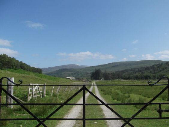 East Rhidorroch Cottage, Ross-shire. We farm sheep and cattle on the hills in a remote and beautiful glen with a large organic garden http://www.organicholidays.co.uk/at/1495.htm