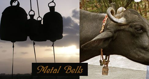 Chimes from grasslands~ Kutch metal bell - Series