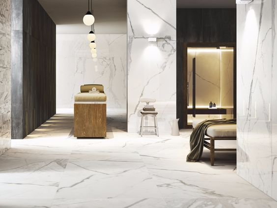MARBLETECH WHITE by CERAMICA FONDOVALLE
