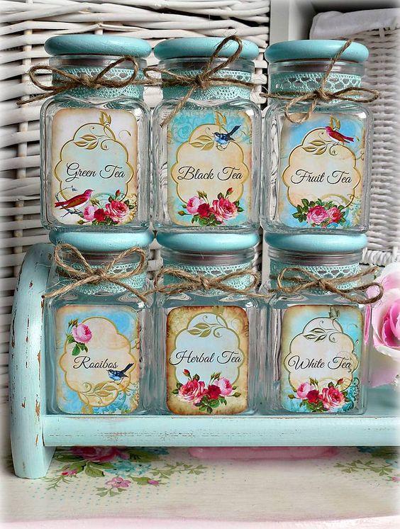 Vintage tea čajovničky