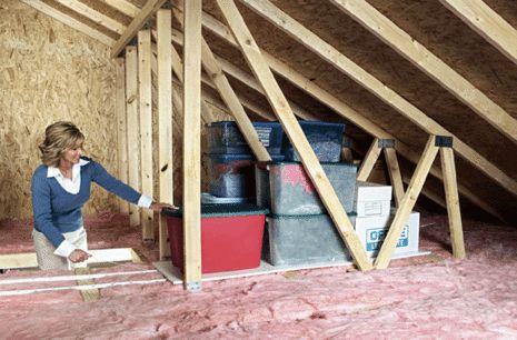 attic storage and organizing ideas | www.attictrac.com