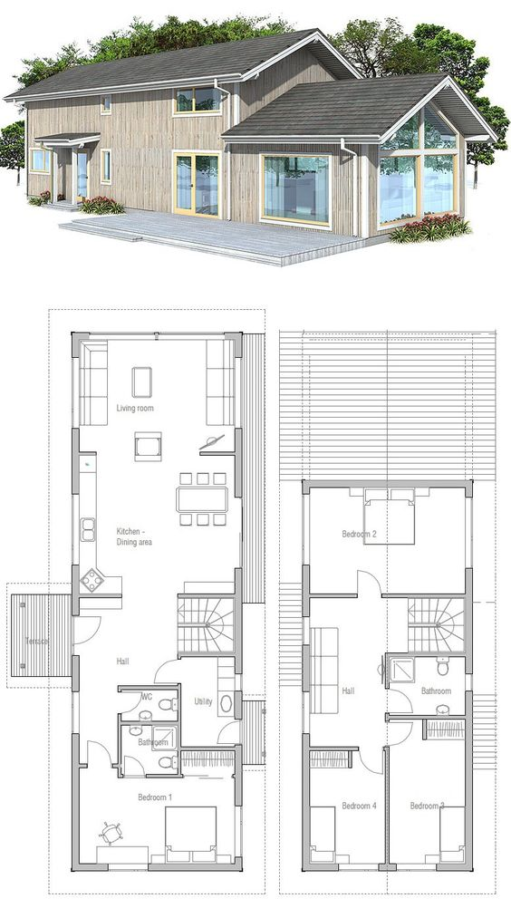 Vaulted ceiling house plans house design plans for Vaulted ceiling floor plans