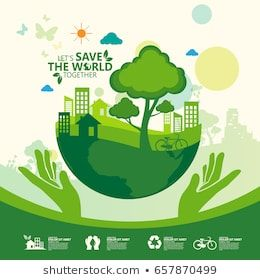 Go Green Images Stock Photos Vectors Shutterstock Go Green Posters Environmental Posters Earth Poster