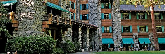 Ahwahnee Hotel at Yosemite. Elegance in the midst of incredible outdoor beauty and activity. Plan ahead to reserve a room!