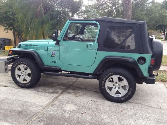 Teal Jeep Wrangler For Sale Google Search Dream Cars Jeep