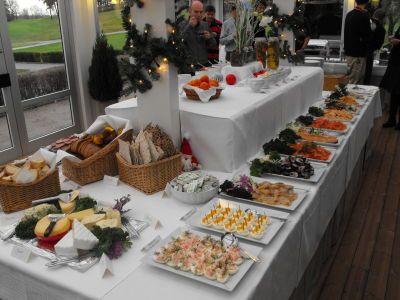 Buffet natalizio svedese