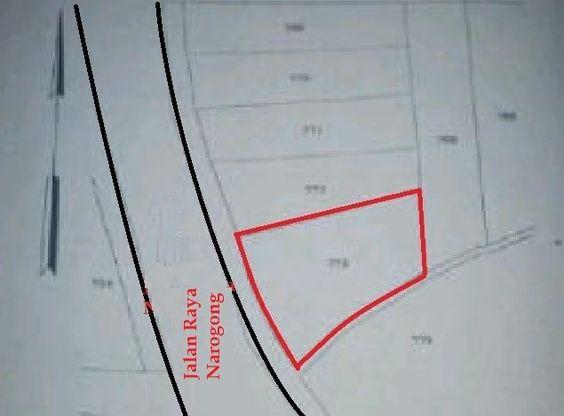 jual Tanah Komersial dan Ruko di Narogong Bnatar Gebang Bekasi