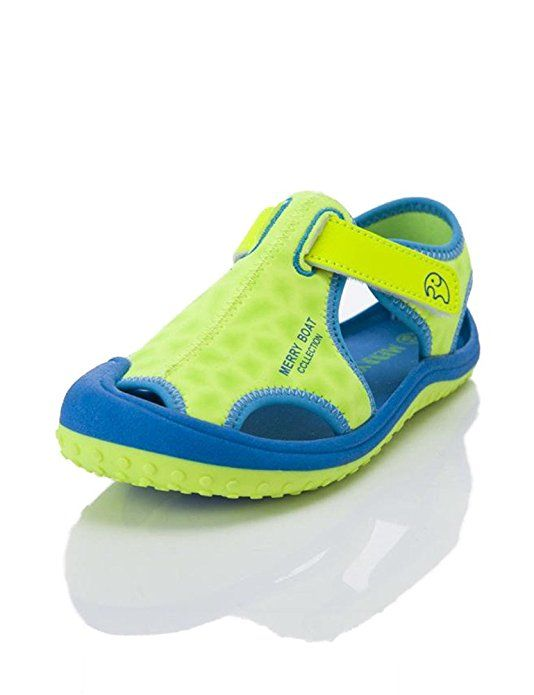Toddler Kids Closed Toe Shoes Baby Boys Girls Beach Sandals Shoes Comfy Sneakers