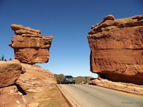 Balanced Rock, Garden of the Gods #ColoradoSprings #Colorado https://www.facebook.com/SpringsTourism