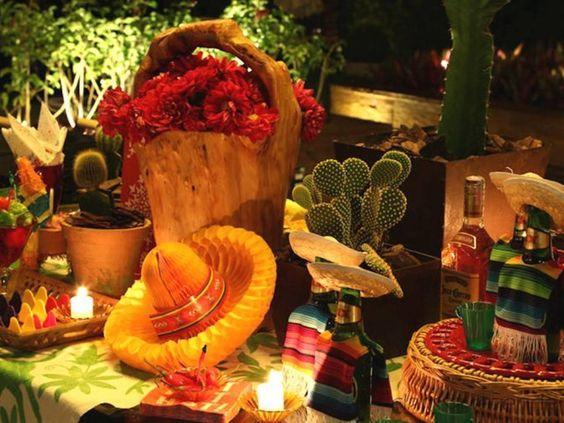 Inspiração Festa Mexicana