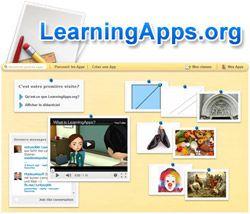 Un créateur d'exercices en ligne avec LearningApps