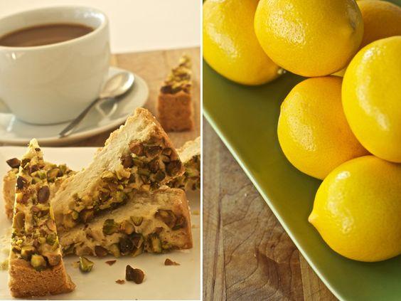 lemon pistachio shortbread