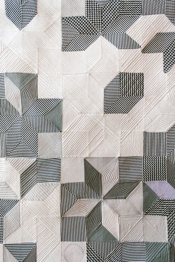 Pamela Wiley art quilts, in: Story Line: Wiley, Howard, and Moneyhun, curated by Susan Laney of Laney Comtemporary,  Posted at Good Bones Blog.: