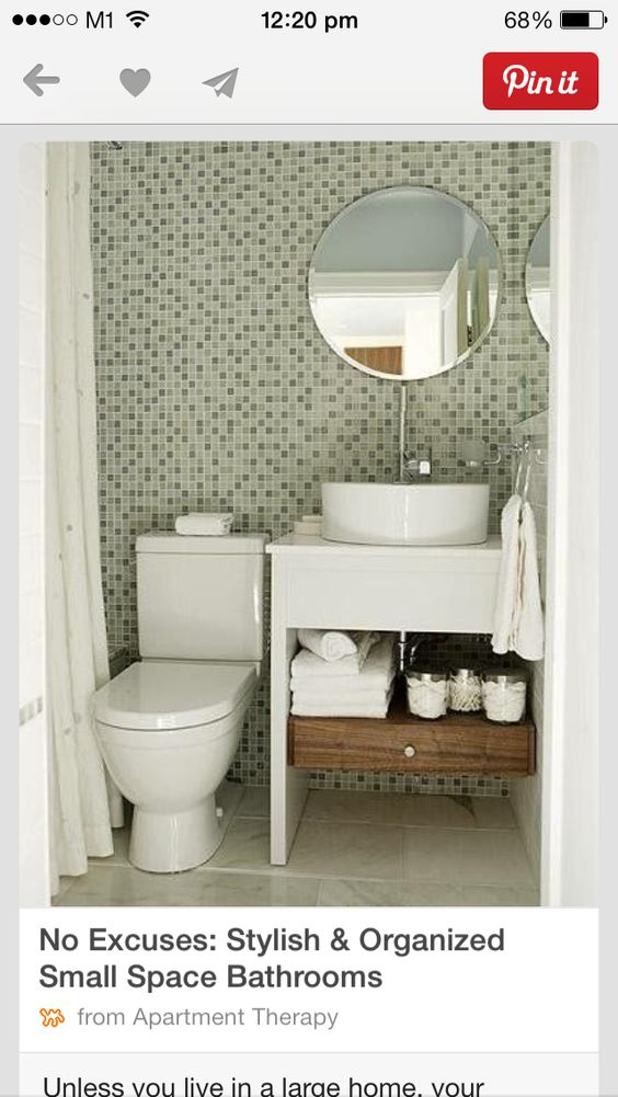 Shower curtain instead of shower screen for small space - Curtains for small spaces ...