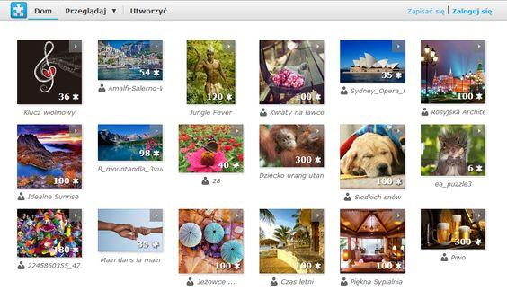 Tworzenie i układanie puzzli: Web 2 0, Świat It, Zajęcia Komputerowe, Układanie Puzzli, Iza Różne