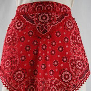 Vintage 1950's Handkerchief Apron