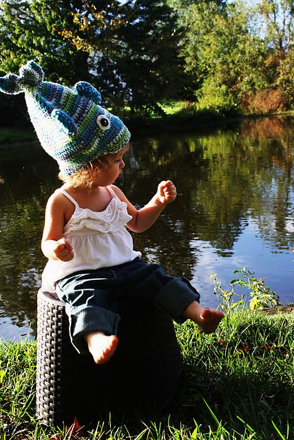 Stinky Fish Crochet Hat - Free Pattern: