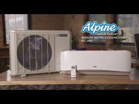 Blueridge Bm48m22c 9w 9w 9w 12w 12w 48 000 Btu 4 0 Ton 21 5 Seer Five Zone Ductless Mini Split Heat Pump System Wi F