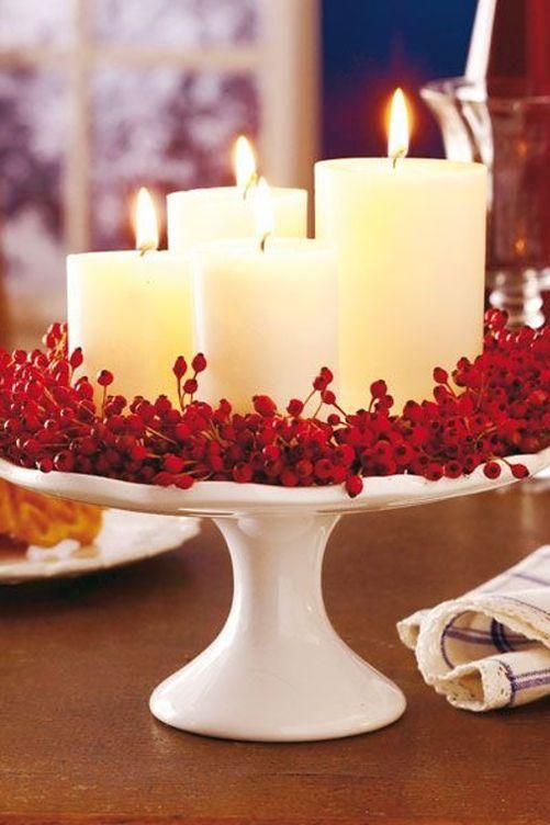 50 Autumn Centerpieces To Complete Your Fall Feast With Images Christmas Centerpieces Fun Christmas Decorations Christmas Table Decorations