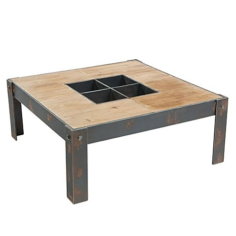 Moe's Home Collection Bolt Coffee Table in Natural Finish